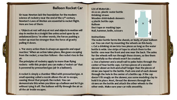 Balloon Powered Projects