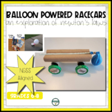Balloon Powered Race Cars