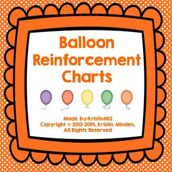Balloon Reinforcement Charts