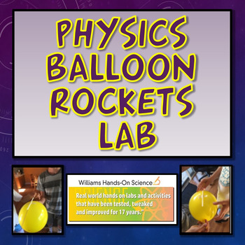 MS-PS2-1: Balloon Rockets Lab