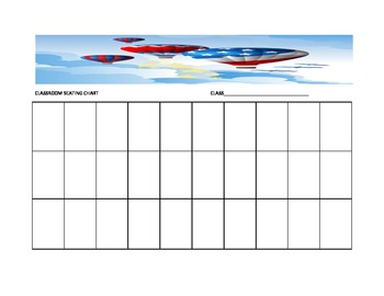Balloon Seating Chart Template for the Music Classroom