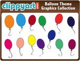 Balloon Theme Clipart Collection