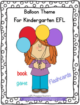 Balloon Theme Packet for English Language Learners