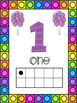Balloon Themed 0-20 Numbers Posters