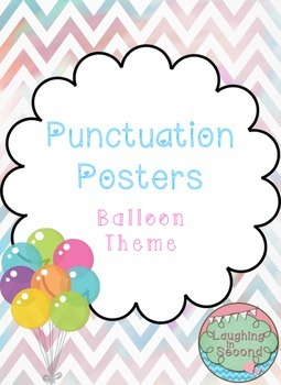 Balloon Themed - Punctuation Posters