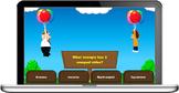 Balloon War quiz game template