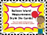 Balloon Wars! A Metric Conversion Game