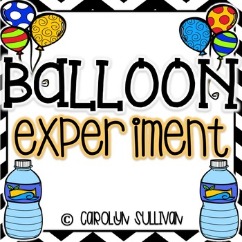 Balloon and Water Bottle Science Experiment