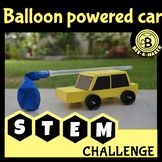 Balloon car STEM challenge