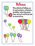 Balloons Clipart FREE