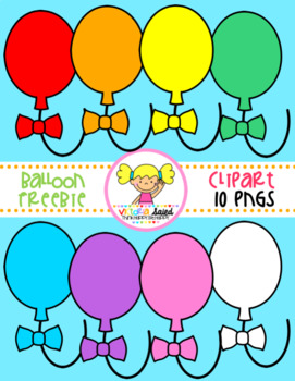 Balloons Clipart Freebie