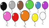 Balloons- Cliparts- Creator Kit: FREE ADD-ON- For Personal