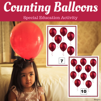 Balloons Counting Activity for Special Education