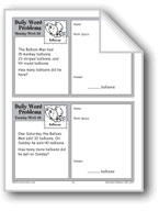 Balloons (Grade 2 Daily Word Problems-Week 20)