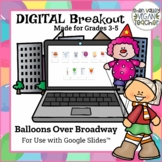 Digital Breakout Escape Room (Google Slides) - Balloons Ov