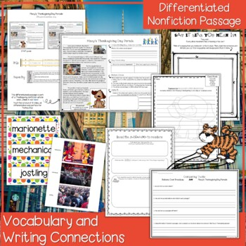 Balloons Over Broadway Lesson Plan and Book Companion