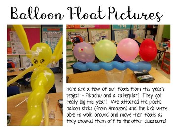 Balloons Over Broadway: Picture Book Engineering Design Challenge ~ STEM