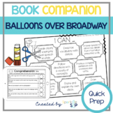 Balloons Over Broadway Book Companion for Speech Therapy (Thanksgiving/November)