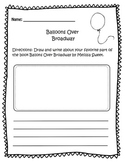 Balloons Over Broadway Worksheet
