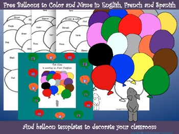 Free Balloons and Colors With Pepper