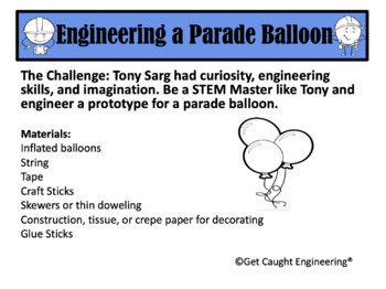 Balloons Over Broadway: A STEM Activity Packet