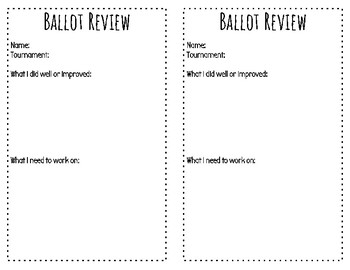 Ballot Review