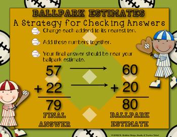 Ballpark Estimating Strategy {Anchor Chart}