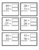 Ballpark Estimation Subtraction Task Cards