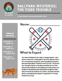 Ballpark Mysteries #11: The Tiger Trouble Novel Study