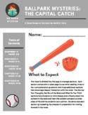 Ballpark Mysteries #13 The Capital Catch Novel Study