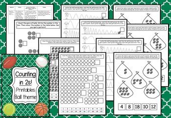 Math Printables - Ball theme