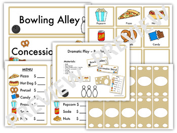 Balls Study - Dramatic Play: Bowling Alley (Creative Curriculum)