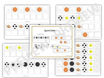 Balls Study - Patterning (Creative Curriculum)