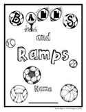 Balls and Ramps Science Student Journal and Word Wall Words