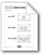 Balls in a Box (number order)