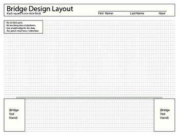 Balsa Bridge Layout Printable