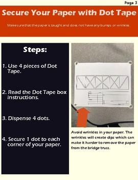 Balsa Wood Bridge Design Guide By Designer Teacher Tpt