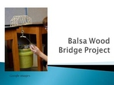 Balsa Wood Bridge Project