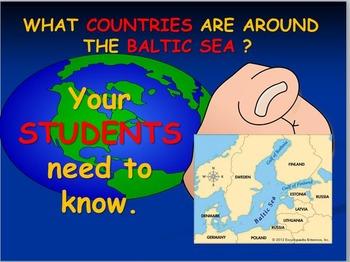Baltic Sea Map Activities