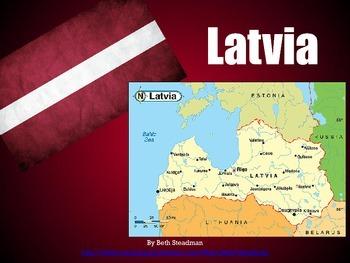 Baltic States PowerPoints Bundle (Estonia, Latvia, and Lithuania)
