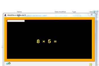 Baltie 3 - programming for children ( division and multiplication)
