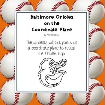 Baltimore Orioles Logo on the Coordinate Plane