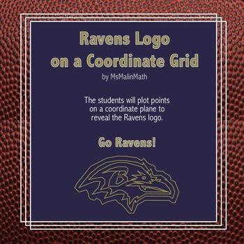 Baltimore Ravens Logo on the Coordinate Plane