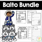 Balto Writing Bundle Sled Dog Racing