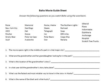 Balto Movie Guide