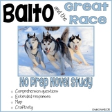 Balto and the Great Race Book Study