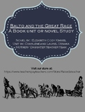 Balto and the Great Race Novel Study/ Book Unit w/ Ch. Qs, Quiz, Activities