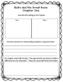 Balto and the Great Race Novel Study Sheets - Chapter One FREE