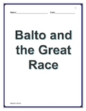Balto and the Great Race comprehension questions