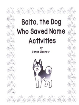 Balto, the Dog Who Saved Nome Activities